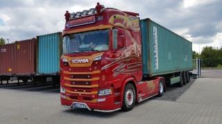 Seecontainertransporte, Calbe Saale, Transportunternehmen