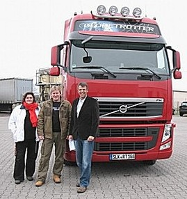 Transportaufträge, Volvo Fh13, Rieback Unterhmen