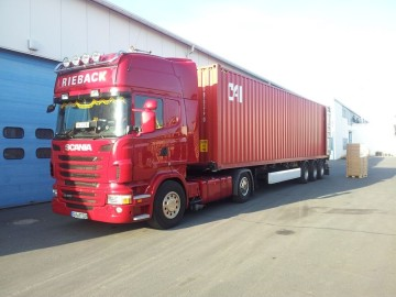 Transport Logistik Rieback, LKW Rieback, Navigation Rieback